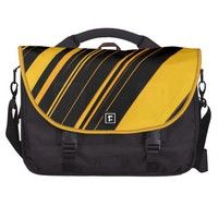 """Bee Lines"" Striped Pattern Commuter Bag @ Zazzle.com"