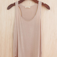 Soft Like a Cloud Tank, Taupe