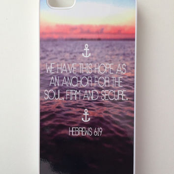 Hebrews 6:19 iPhone Case