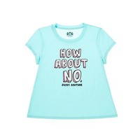 Girls How About No Graphic Tee 7-14