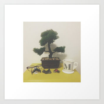 BONSAI Art Print by M O L L Y J A N E