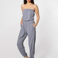 American Apparel Tri-Blend Pocket Jumpsuit