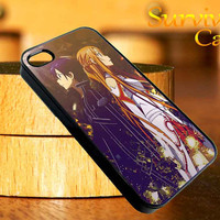 Sword Art Online iPhone 4 4S iPhone 5 5S 5C and Samsung Galaxy S3 S4 Case