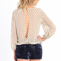 Thinking Pink Flamingo Print Top - $32.00 : ThreadSence.com, Your Spot For Indie Clothing & Indie Urban Culture