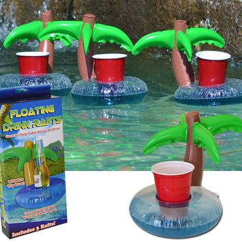 PALM TREE DRINKS RAFTS