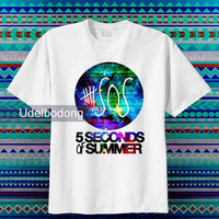 5 Second of summer logo  _  Beautyful Design Tshirt And Tank top Design By : udelbodong