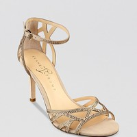 IVANKA TRUMP Open Toe Evening Sandals - Gifford High Heel