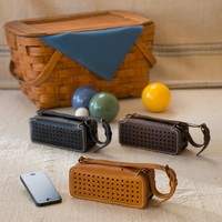 Leather Bluetooth Wireless Speaker