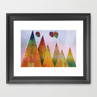 Thursday Framed Art Print by SensualPatterns
