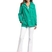 Calvin Klein Women's Short Anorak Jacket