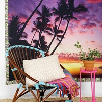 Plum & Bow Palm Tree Tapestry- Pink One
