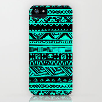 Urban Tribal Pattern iPhone & iPod Case by hyakume