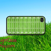 American FOOTBALL IPHONE 5S CASE Green Field iPhone Case iPhone 5 Case iPhone 4 Case Samsung Galaxy S4 S3 Cover iPhone 5c iPhone 4s Cover