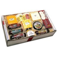 Deluxe Wisconsin Cheese and Sausage Gift Box