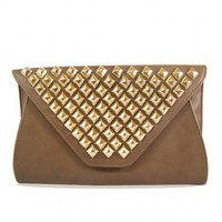 The Taupe Studs Bags