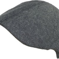 D&Y New York Duckbill Ivy Scally Cap 6 Panel Faded Chambray Cotton Driver Hat