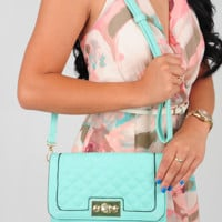 Feeling That Way Purse: Mint