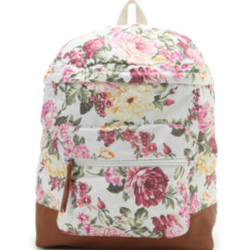 Madden Girl X Kendall and Kylie Floral Backpack at PacSun.com