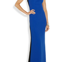 Jonathan Saunders Lily two-tone crepe gown – 70% at THE OUTNET.COM