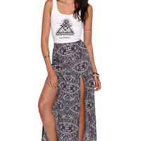 Kendall and Kylie High Rise Maxi Skirt at PacSun.com