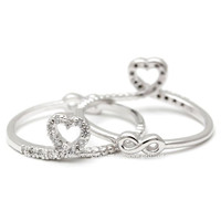 girlsluv.it - heart and infinity ring