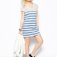 Minkpink Raw Power Stripe Tunic Dress