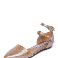 Metallic Cut Out Sandals | Vivienne Westwood