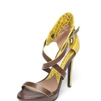 Canary Yellow Sandals | Vivienne Westwood