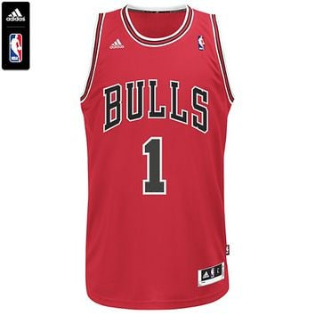 BULLS DERRICK ROSE NBA SWINGMAN JERSEY