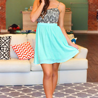 Lady Love Dress - Mint