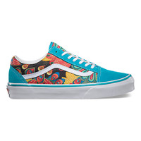 Peacock Old Skool | Shop Womens Sidestripes at Vans