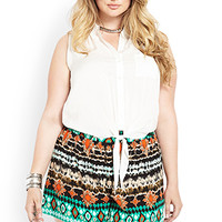 Abstract Muse Woven Shorts