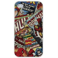 Marvel Avengers Retro iPhone 4 Case