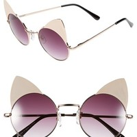 Leith 'Cat Brow' Retro Sunglasses | Nordstrom