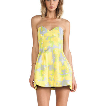 Boulee Ivy Dress in Yellow