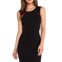Diane von Furstenberg Moscow Dress in Black