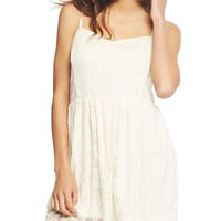 Lace Tank Skater Dress | Wet Seal