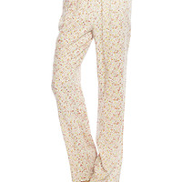 Prairie Floral Wide Leg Pant | Wet Seal