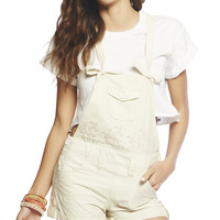 Eyelet Shortall | Wet Seal