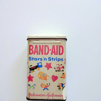 Vintage Band-Aid Metal Tin