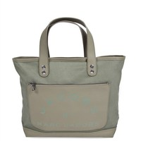 Laminated Twill Jacobs Tote - Small