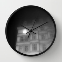 night window Wall Clock by Marianna Tankelevich