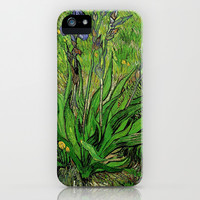 The Iris by Vincent van Gogh iPhone & iPod Case by NatureMatters