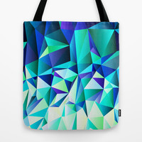 Polygons - Pocahontas Tote Bag by House of Jennifer