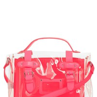 Topshop Jelly Satchel