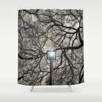 The Light Shower Curtain by DuckyB (Brandi)