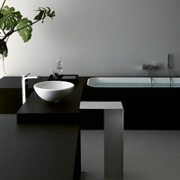 KOS Geo Soft glass built -in | Ludovica + Roberto Palomba | built in bath tubs at Stylepark
