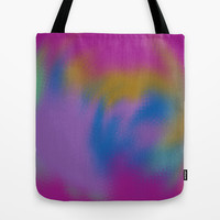 crazy swirls Tote Bag by Saykada