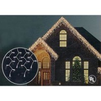 Walmart: Set of 150 Shimmering Clear Mini Icicle Christmas Lights - White Wire