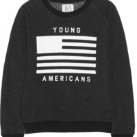 Zoe Karssen Young Americans cotton-blend sweatshirt – 50% at THE OUTNET.COM